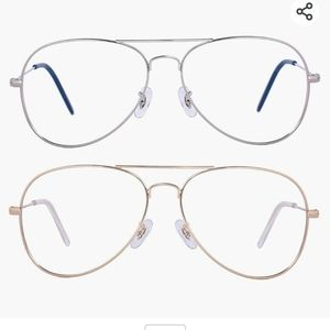 2 Pack Blue Light Blocking Glasses